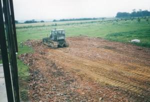 1996 srpen stavba hriste